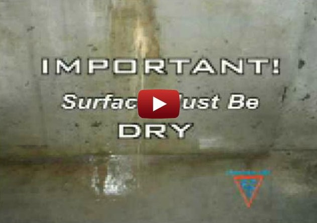 Basement Waterproofing Crack Injection Repair Video
